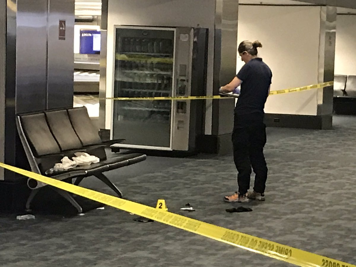 Calif. officer stabbed during airport confrontation