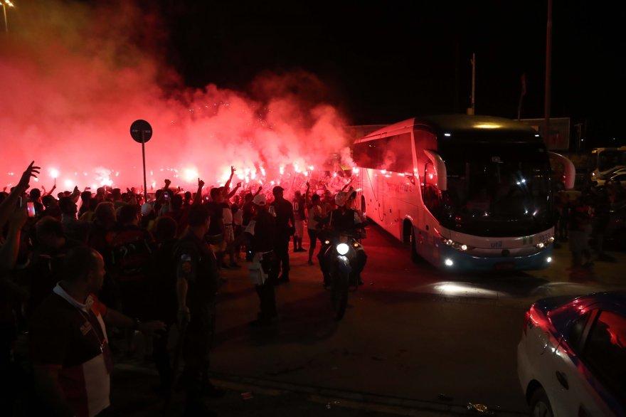 Serão quase seis mil no Mineirão, mas 40 milhões em todo mundo gritando #Flamengo! #SomosTodos