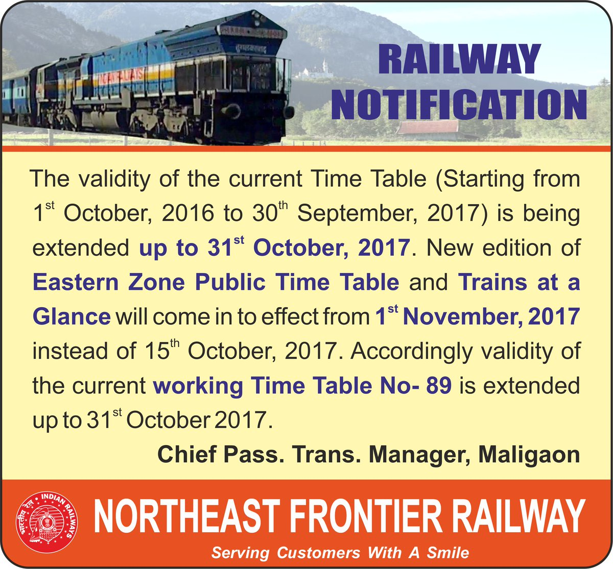 N  F  Railway on Twitter: