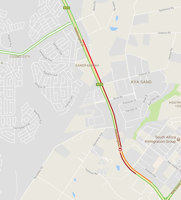 Aintry Georgia Map.Ewn Traffic On Twitter Kya Sand Accident On Malibongwe Drive Near