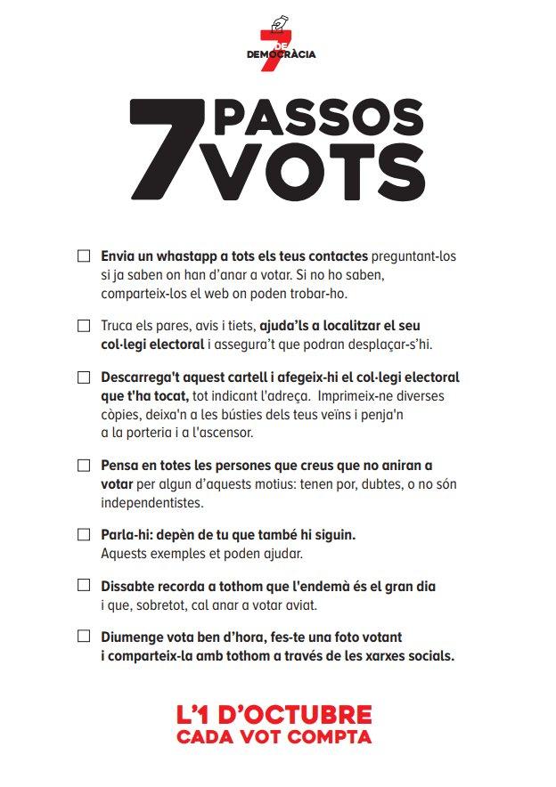 488c5f1804 La Fiscalía investiga el panfleto que pide delatar a quienes no vayan a  votar ...