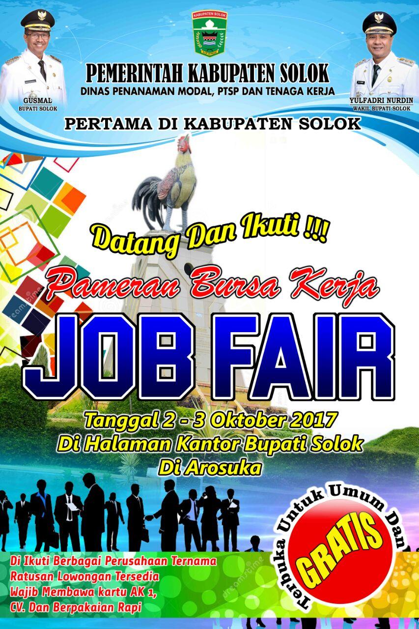 JobFairGratis Kab. Solok 2017