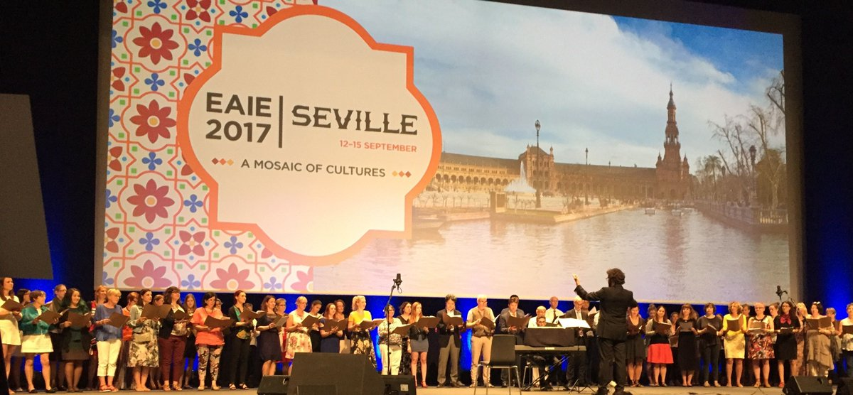 #EAIE2017 had around 7,000 attendees wanting to learn how to increase global engagement. Read our blog on the event  https:// buff.ly/2jWhlNz  &nbsp;  <br>http://pic.twitter.com/wcnFJraOuq