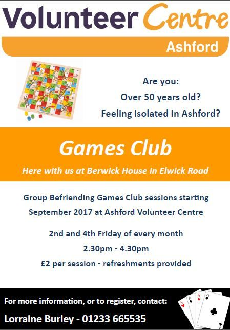 Ashford Volunteer Centre Games Club