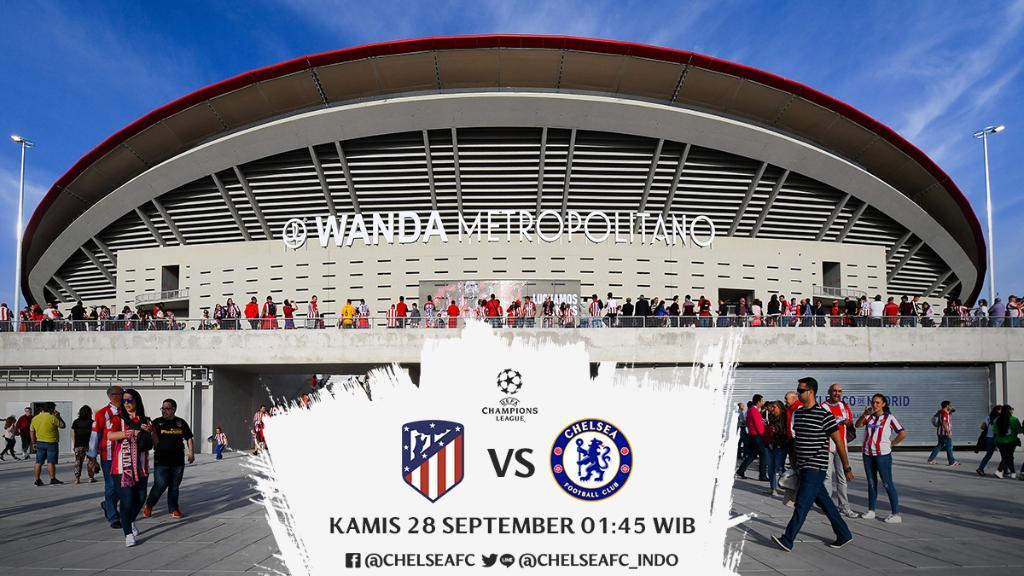 Chelsea Fc Indonesia على تويتر Dukung Kami Dini Hari Nanti Atletico Madrid Wanda Metropolitano T Liga Champions 01 45 Wib Bein Sports 1 Cfcindo Https T Co 34ivauitfw