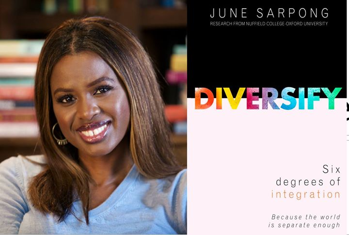 Image result for Diversify: Six Degrees of Integration by June Sarpong