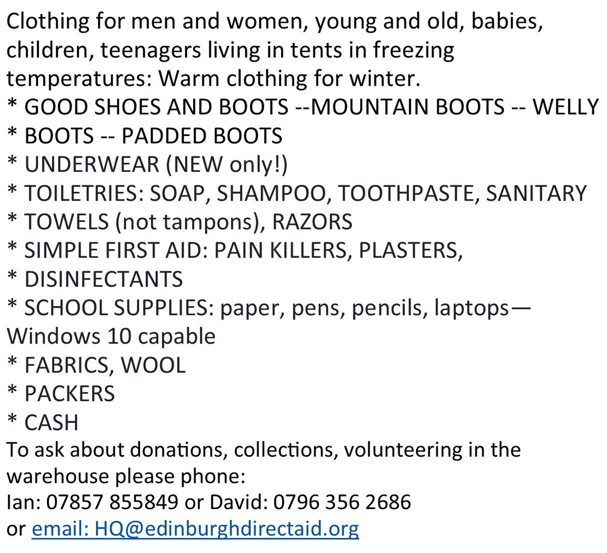 Our Supplies Are Low Can You Donate We Re Open Every Weds Sun 11am 3pm Wish List Below Directions Here