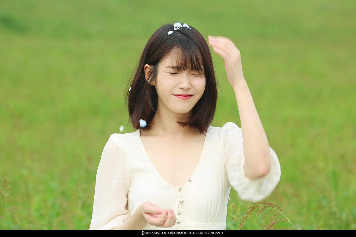 "IU: Cherry Blossoms 🌸 On Twitter: ""[Flower Bookmark 2] IU"