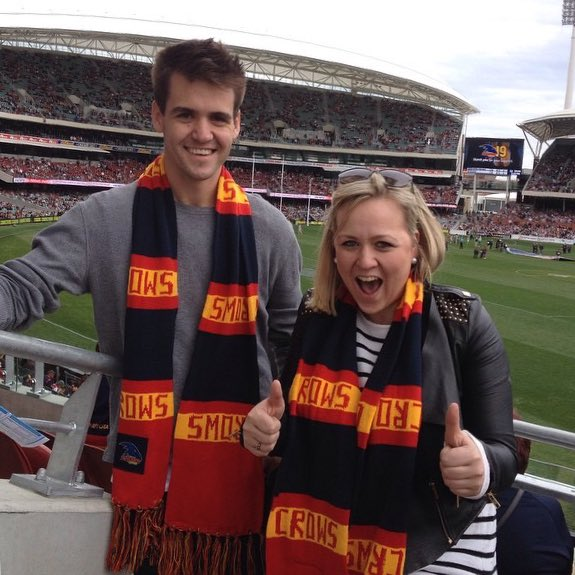 #AFLCrowsTigers #GrandFinal count down i...