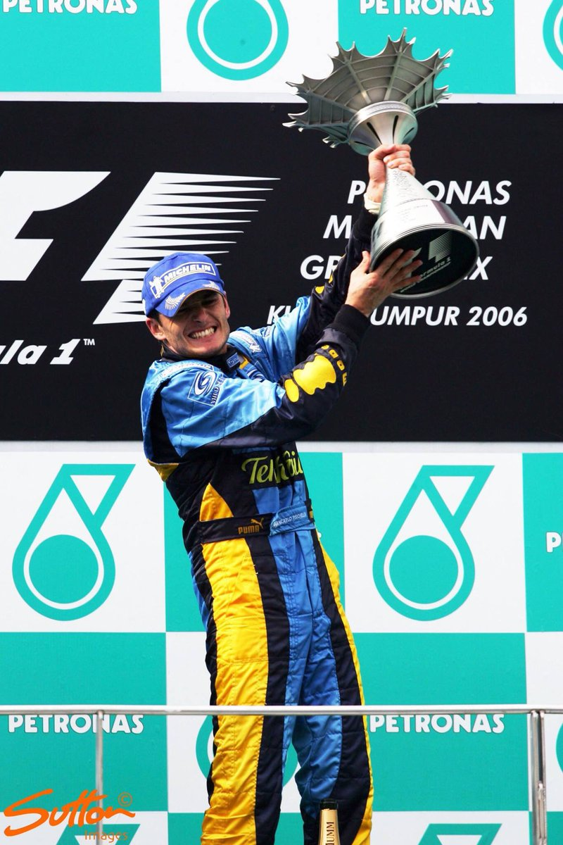 "Motorsport Images on Twitter: ""Malaysia GP The 2006 Malaysia Grand Prix was  won by Giancarlo Fisichella, leading home his teammate Fernando Alonso for  a Renault 1-2… https://t.co/Uqrp6IcAaA"""