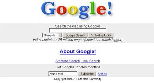 On this day in 1998: Google launches