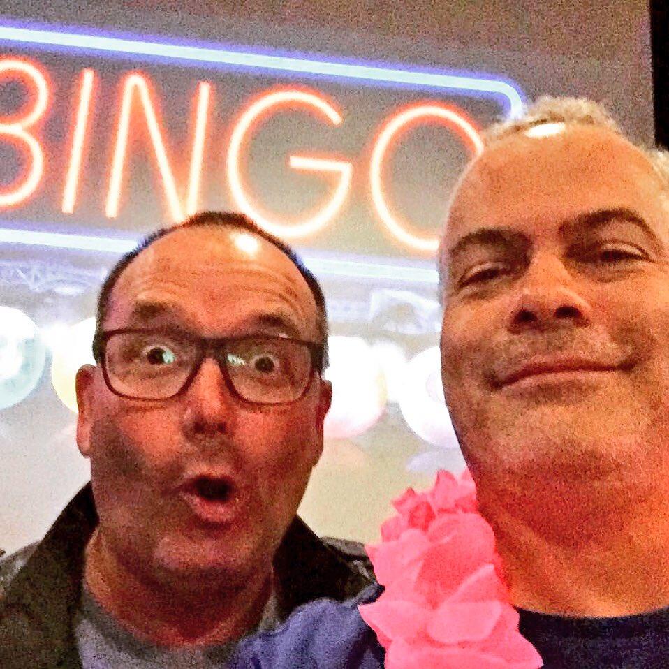 Het Party Bingo Team gisterenavond #vrouwenavond #bingo #partyregelaar met @PerryKasbergen @JurgenWernerr