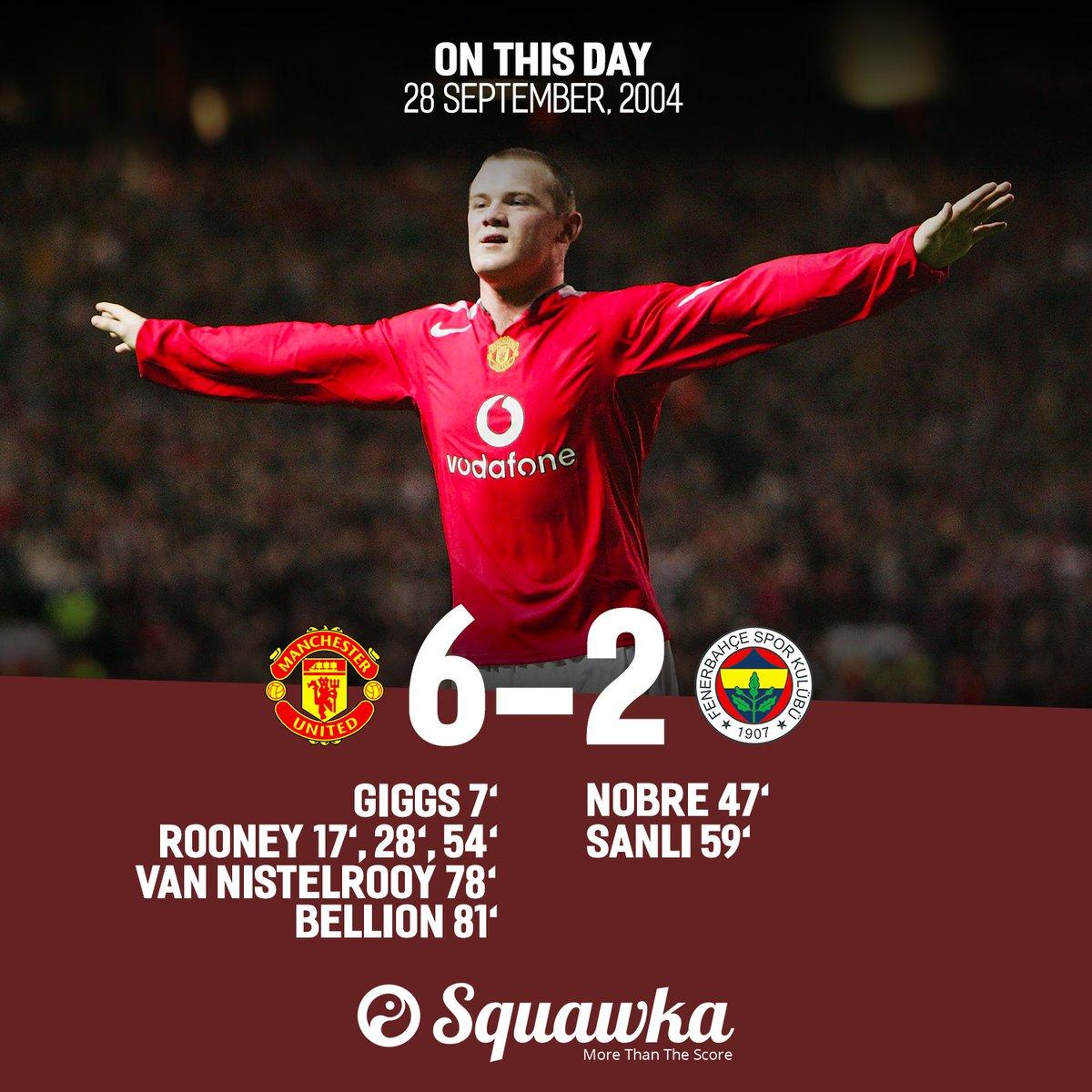 Squawka Football On Twitter 28th September 2004 Wayne Rooney Scores His First European Goal 28th September 2017 Wayne Rooney Scores His 40th European Goal Https T Co Fqqv3cjcir