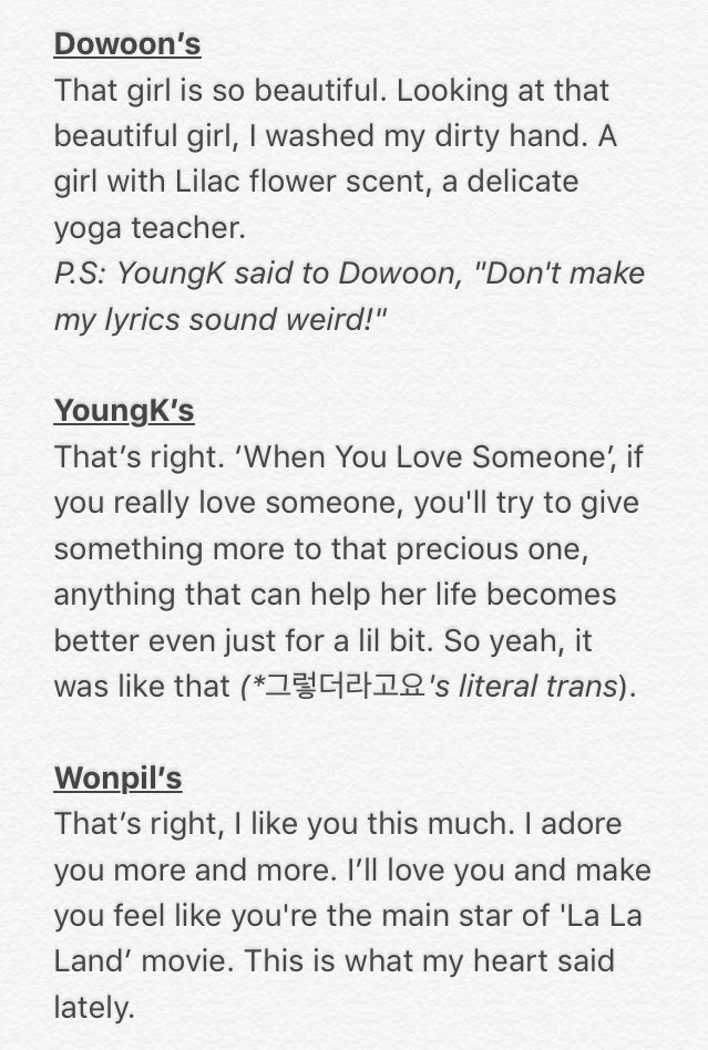 Lyric if i can help somebody lyrics : 사랑한DAY on Twitter: