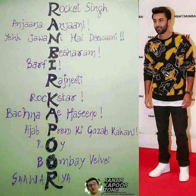 Ranbir Kapoor Happy Birthday Ranbir