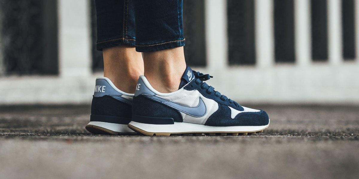 wholesale dealer 895c0 f2f25 NEW IN! Nike Wmns Internationalist - Summit White Glacier Grey-Thunder Blue  SHOP HERE  http   bit.ly 2k2hcbz pic.twitter.com yNWZW0P9WC