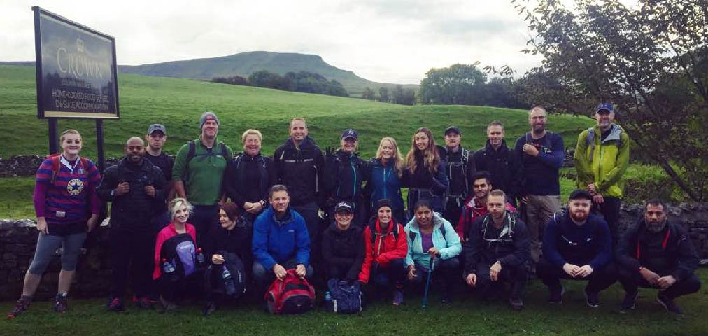 3 mountains. 5,200-ft of ascent. 24 miles. 24 people.  http:// ow.ly/G34V30fr6pr  &nbsp;   #yorkshire3peaks #ief <br>http://pic.twitter.com/GIpHtkqIKx