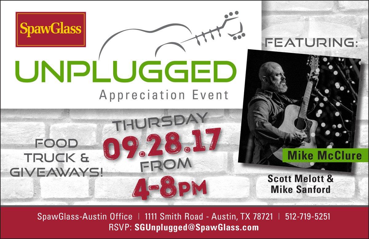 spawglass on twitter tomorrow unplugged appreciation event in rh twitter com