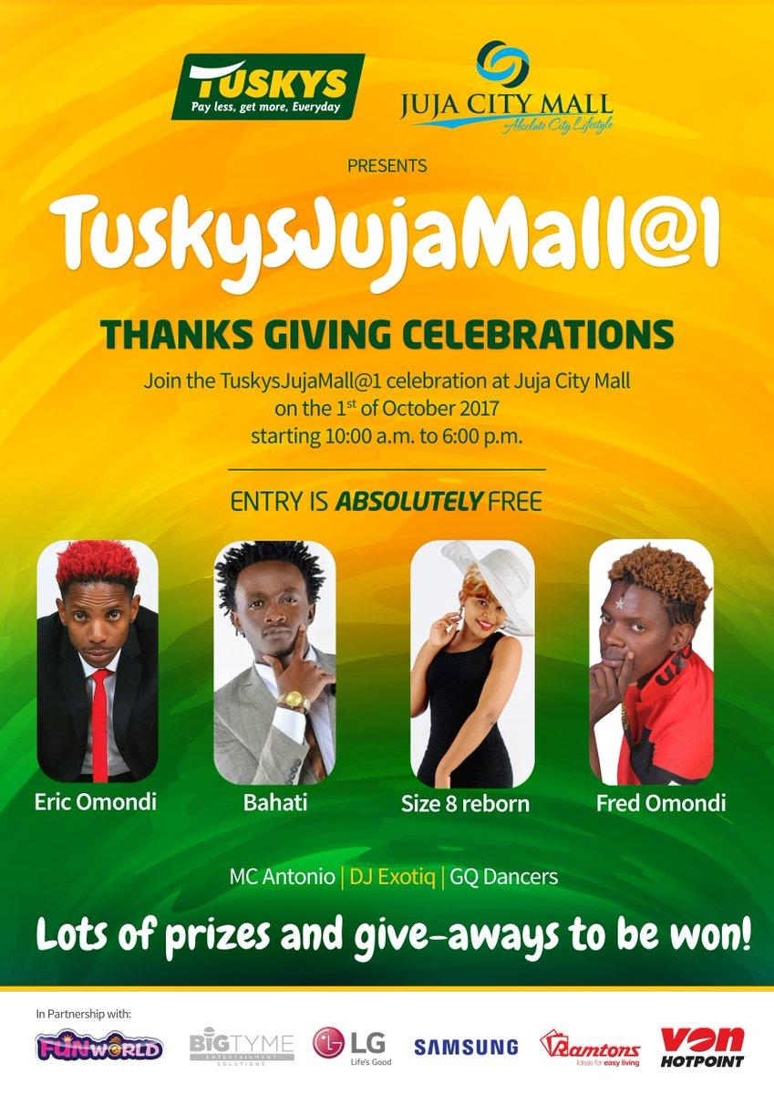 Mall anniversary celebration ideas
