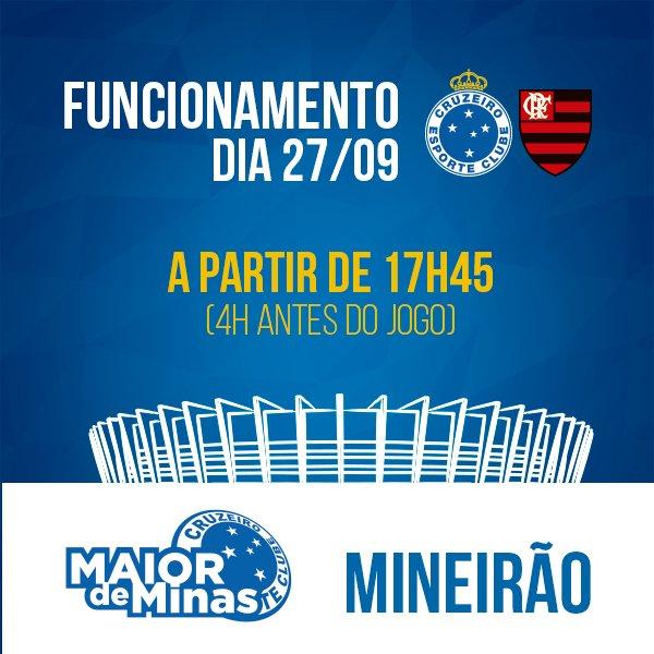 A loja oficial do Cruzeiro no Mineirão abrirá junto com os portões da  Esplanada! A a51ef756d1b77