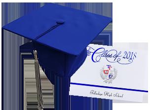 Graduation gowns designs