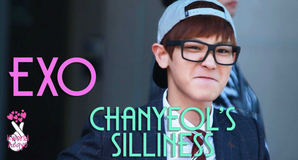 #KPopOnCrack #EXO #Chanyeol Funny, Silliness, Craziness, Cuteness #KPop  Watch it on KWorld Aegyo Channel: https://www.youtube.com/channel/UC7gKHD0vZgxhsBV3UCkQ6BQ…pic.twitter.com/vadcJVKq6Z