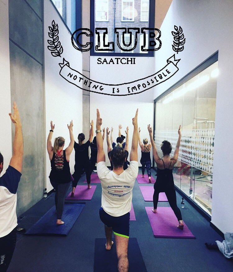 #NationalFitnessDay smashed at Saatchi London with lunchtime yoga #adlife https://t.co/g9vY3PTgPN
