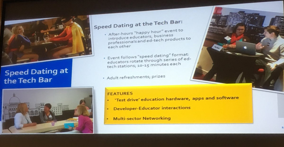 Ed Tech Speed ​​Dating