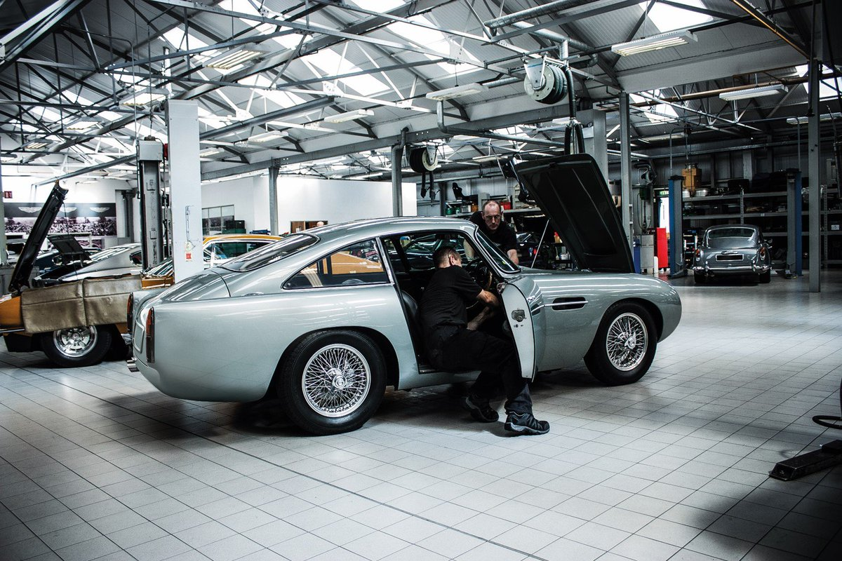 "Aston Martin Works on Twitter: ""Where better to service a ... | aston martin works service"