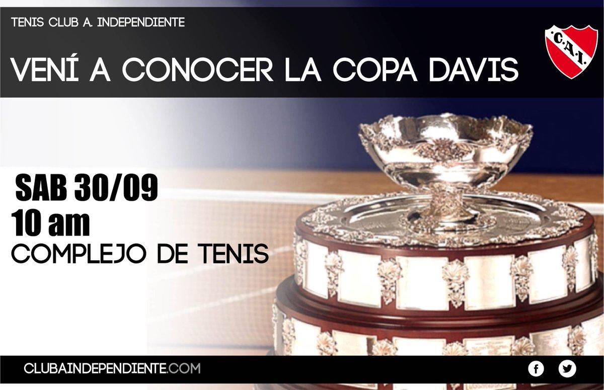 La Copa Davis en Independiente