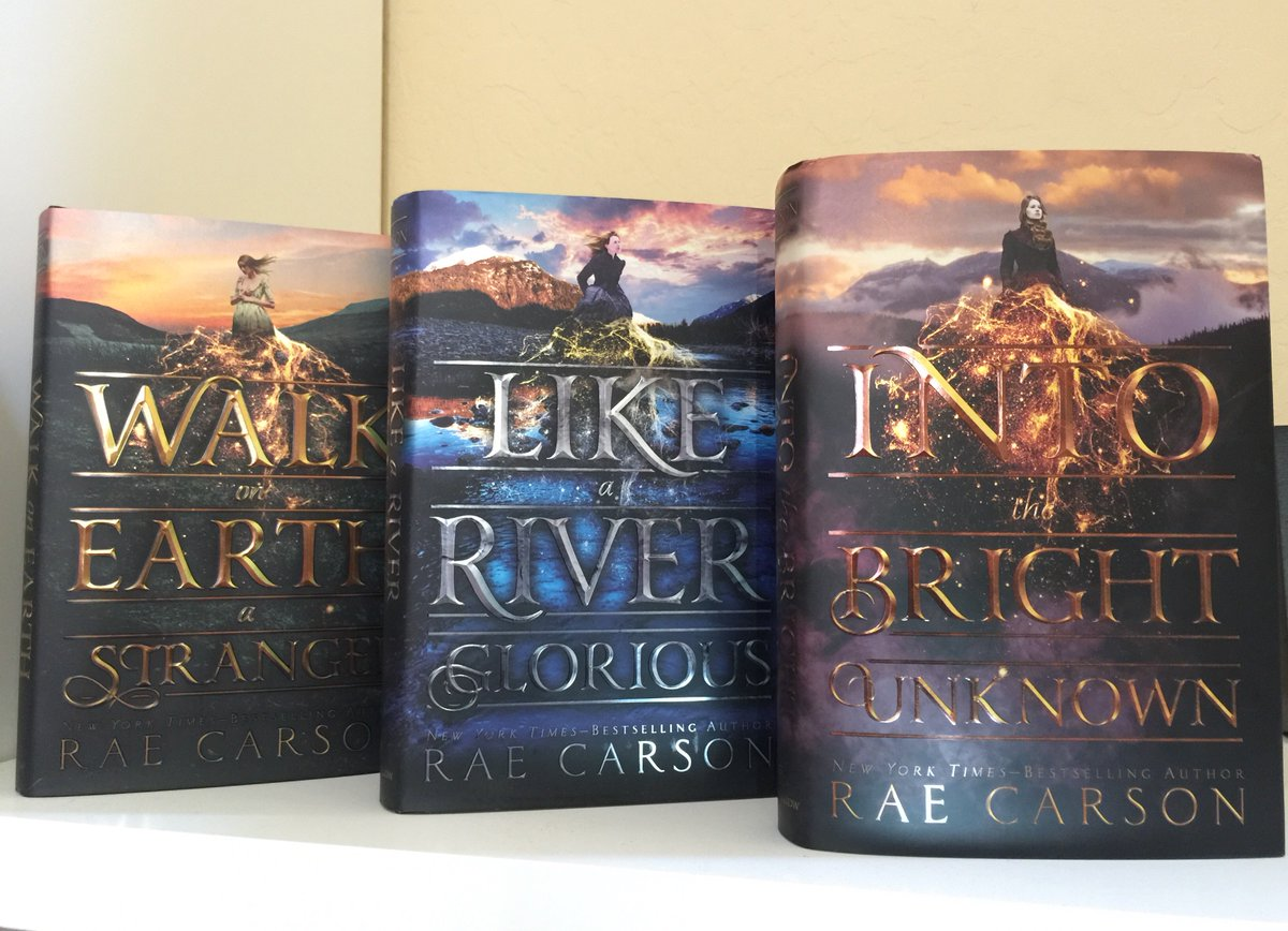 IT'S A TRILOGY! (The final book, Into the Bright Unknown, hits shelves Oct 10.) https://t.co/J2n40zcPEL