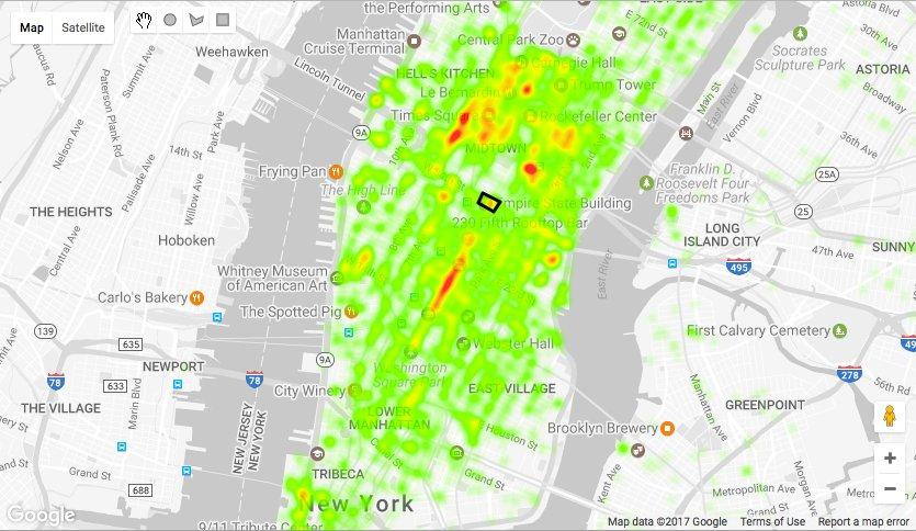 #Codelab: Querying and Visualizing Location Data in BigQuery using Google Maps API  https:// buff.ly/2xxIb4g  &nbsp;   #GoogleCloud #Maps #BigQuery<br>http://pic.twitter.com/5BLbAP4eEV