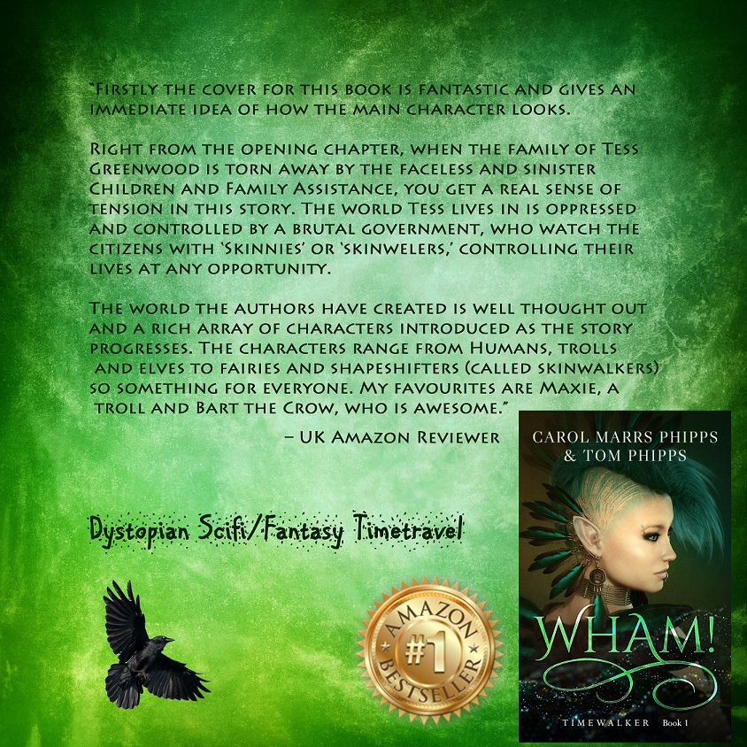 "Via ""@Car01am  A wonderful dystopian, time-travelling delight #YAlit #bookboost 2.99 http://GetBook.at/8ba  pic.twitter.com/jjRtBxy2UF"