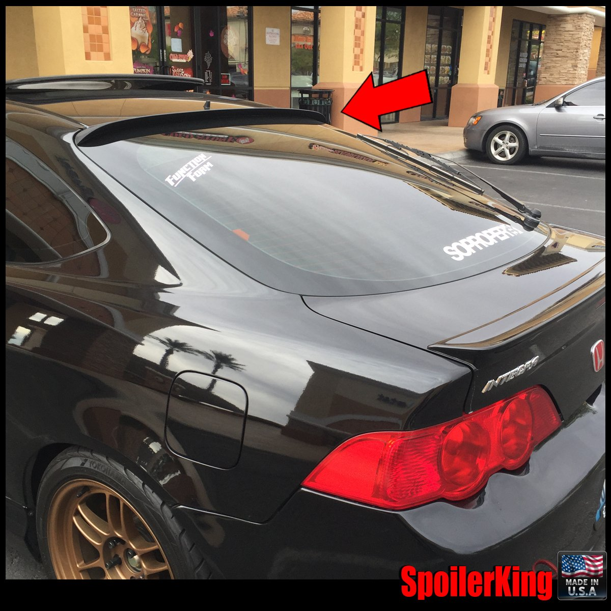 Spoiler King Roof Spoiler 284R compatible with Acura RSX 2002-2006 ...