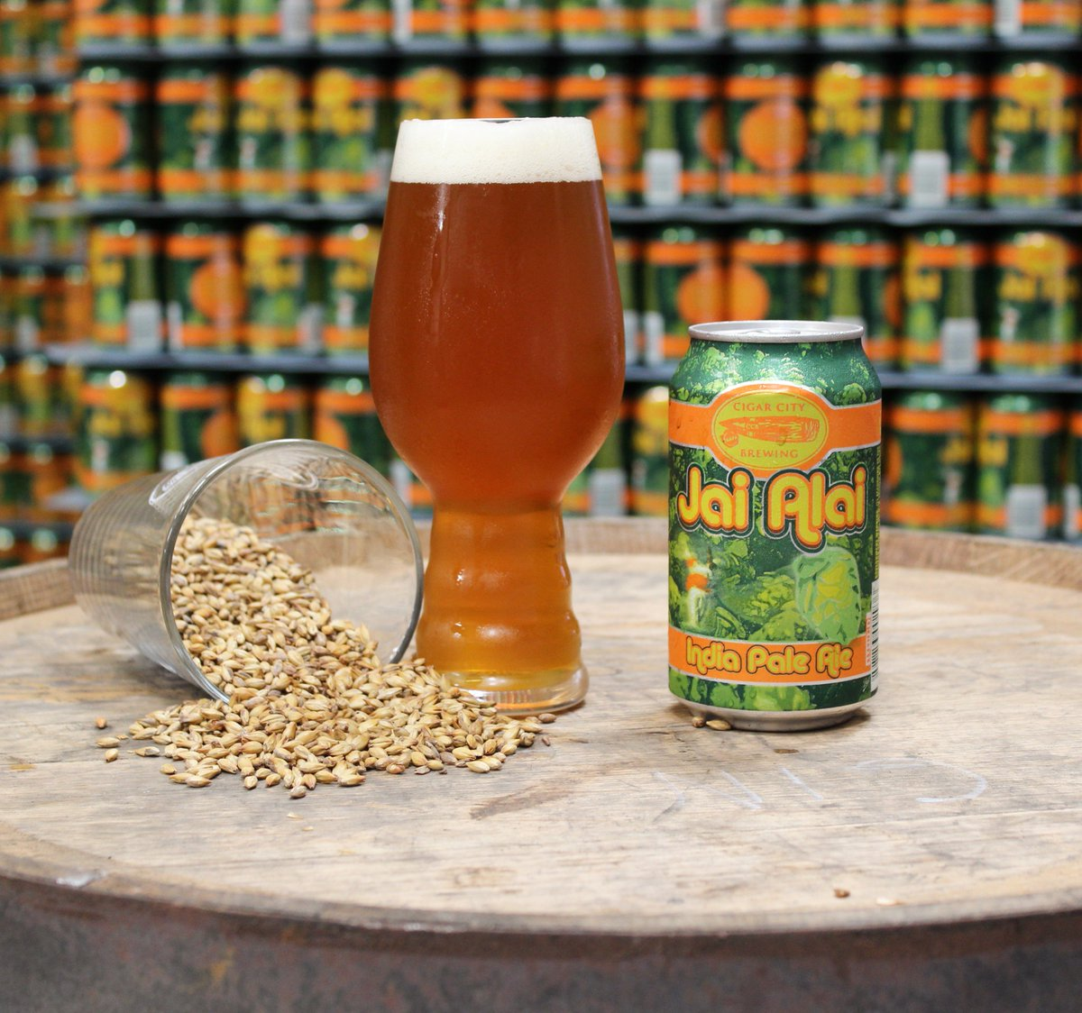 Jai Alai is one of our favorite beers. Retweet if it's your favorite too #CigarCityBrewing #JaiAlai #CraftBeer https://t.co/GiNYjWLuQs