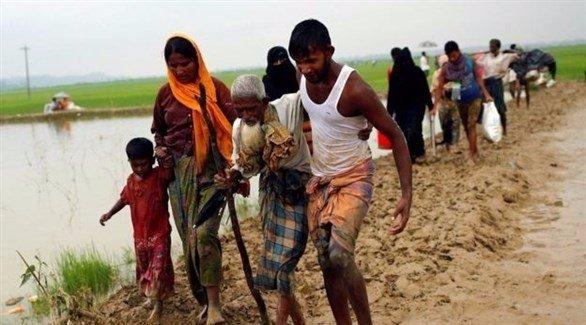 العفو الدولية تدعو الأمم المتحدة لتطبيق حظر أسلحة على ميانمار DKwYhYzWAAALlZg