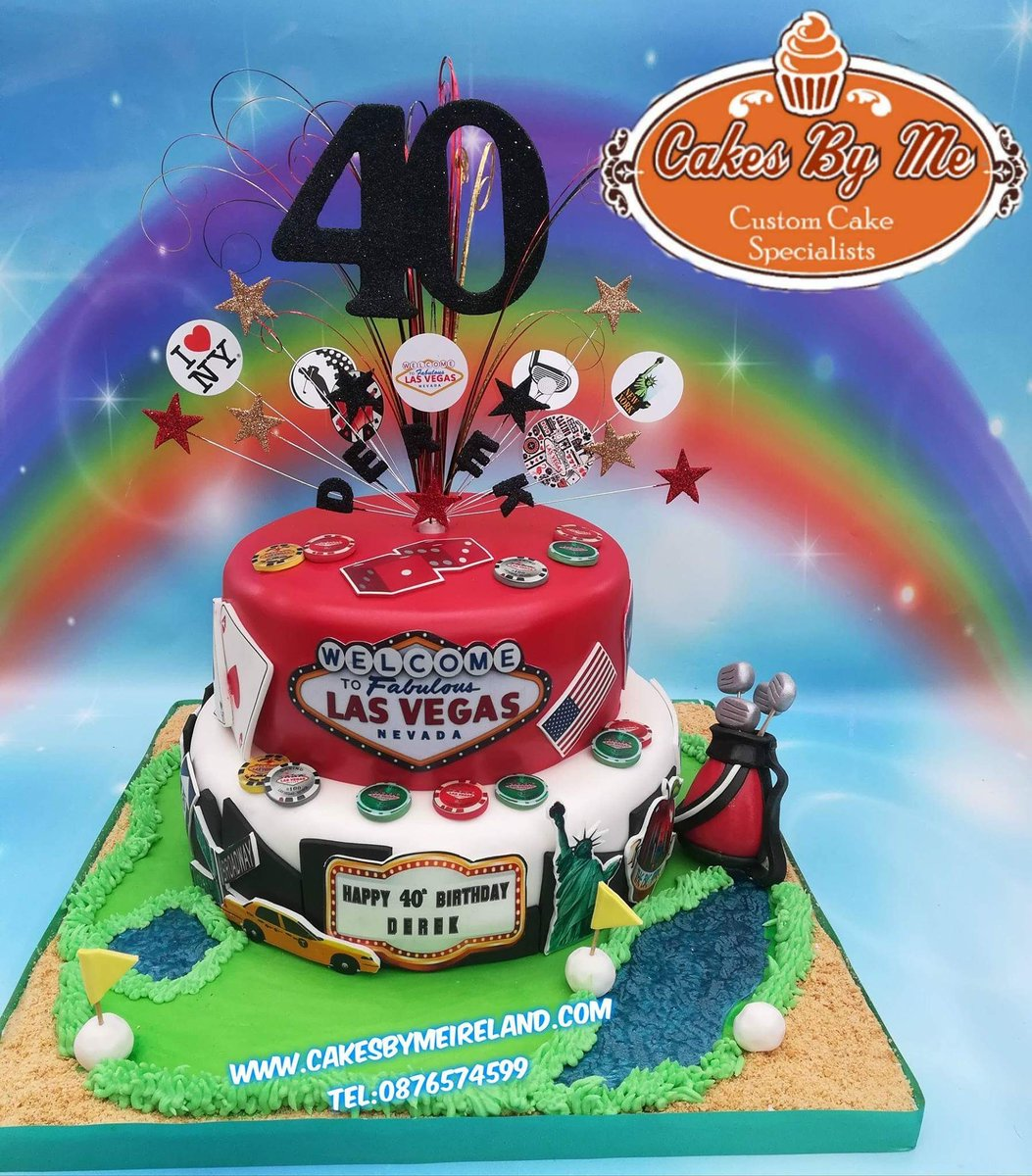 CAKES BY ME On Twitter Derek Celebrated His 40th Birthday Over The