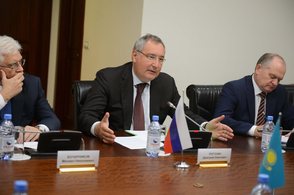 Baikonur Complex and mutual cooperation in the High Technology development were on the agenda during talks with the government of Kazakhstan