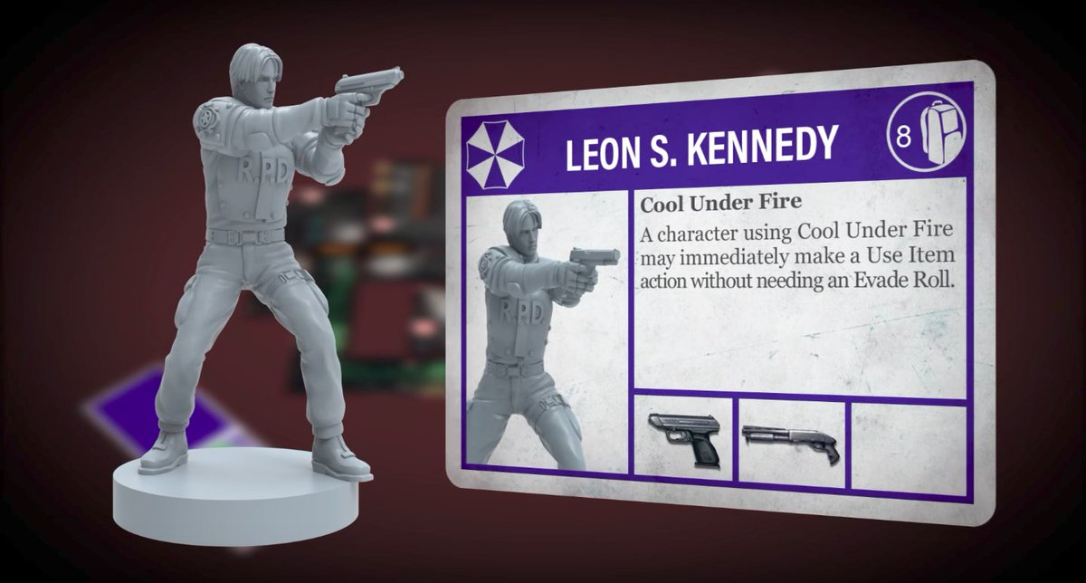 'Resident Evil 2' board game already shattered its goal on Kickstarter