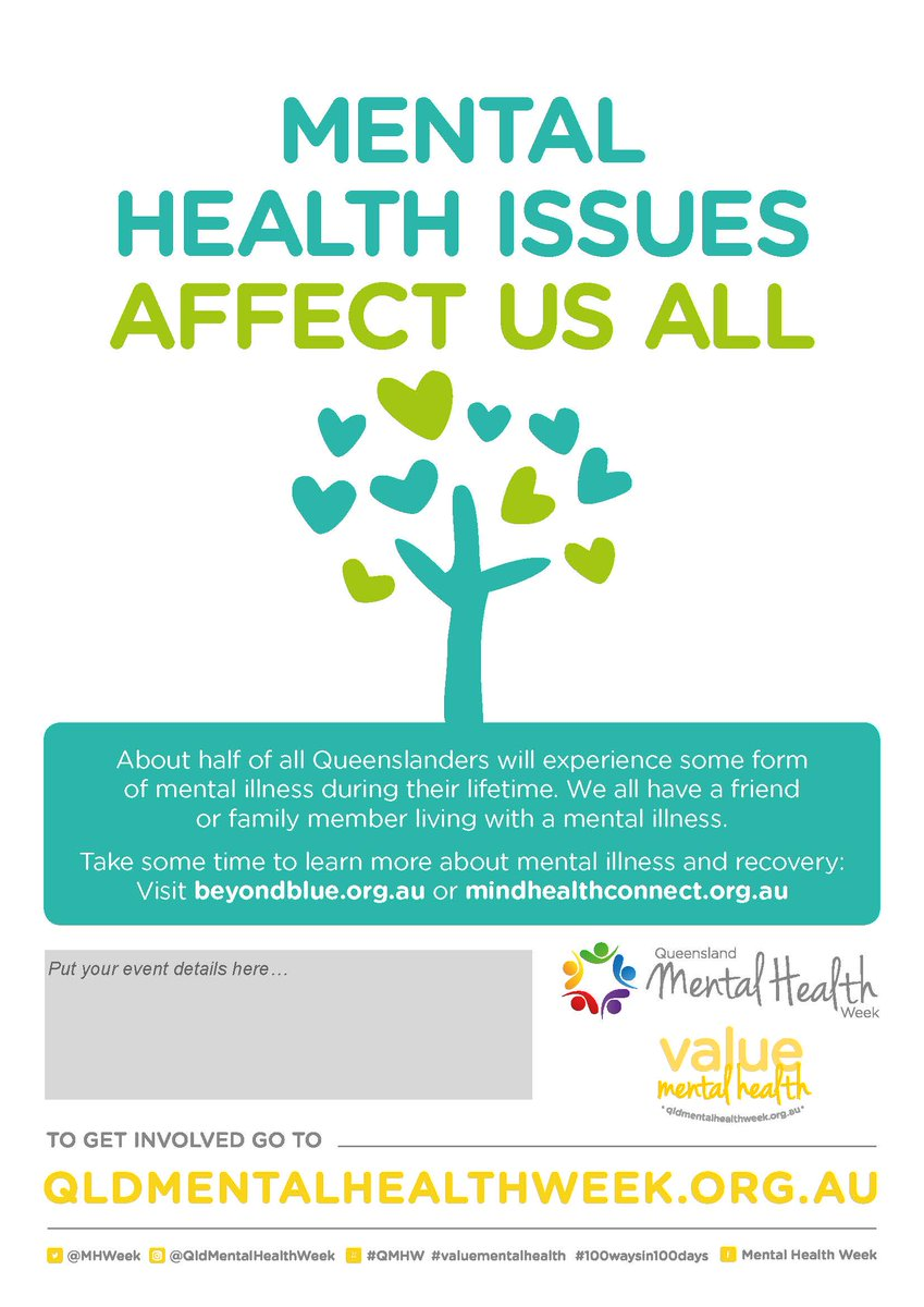 Mental Health Week On Twitter New QMHW Posters Now Available For Download Get Them Here Tco Ei5Ks7cNkb