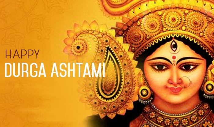 Happy Durga Ashtami Greetings  IMAGES, GIF, ANIMATED GIF, WALLPAPER, STICKER FOR WHATSAPP & FACEBOOK