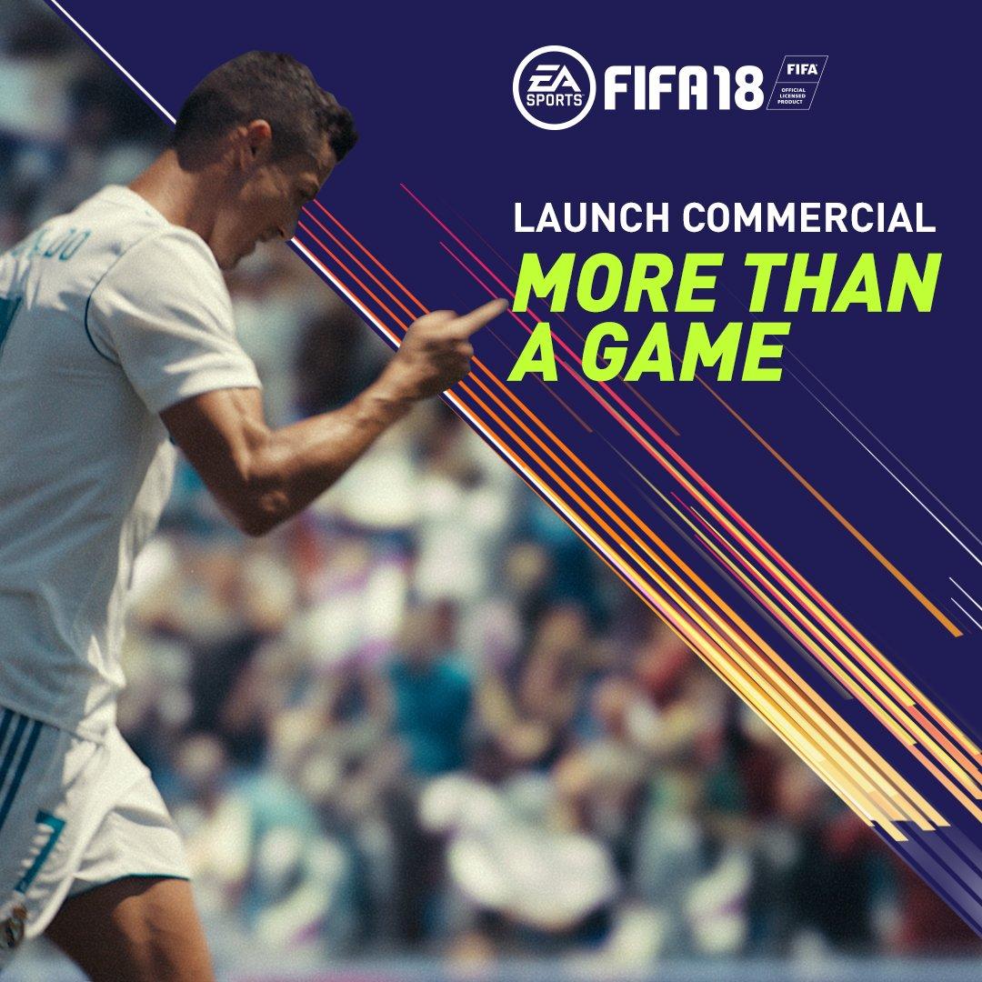 More Than A Game. FIFA 18 sounding