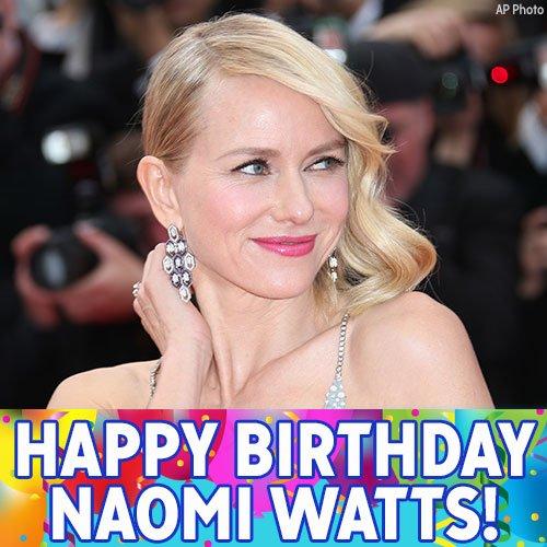 Happy Birthday, Naomi Watts!