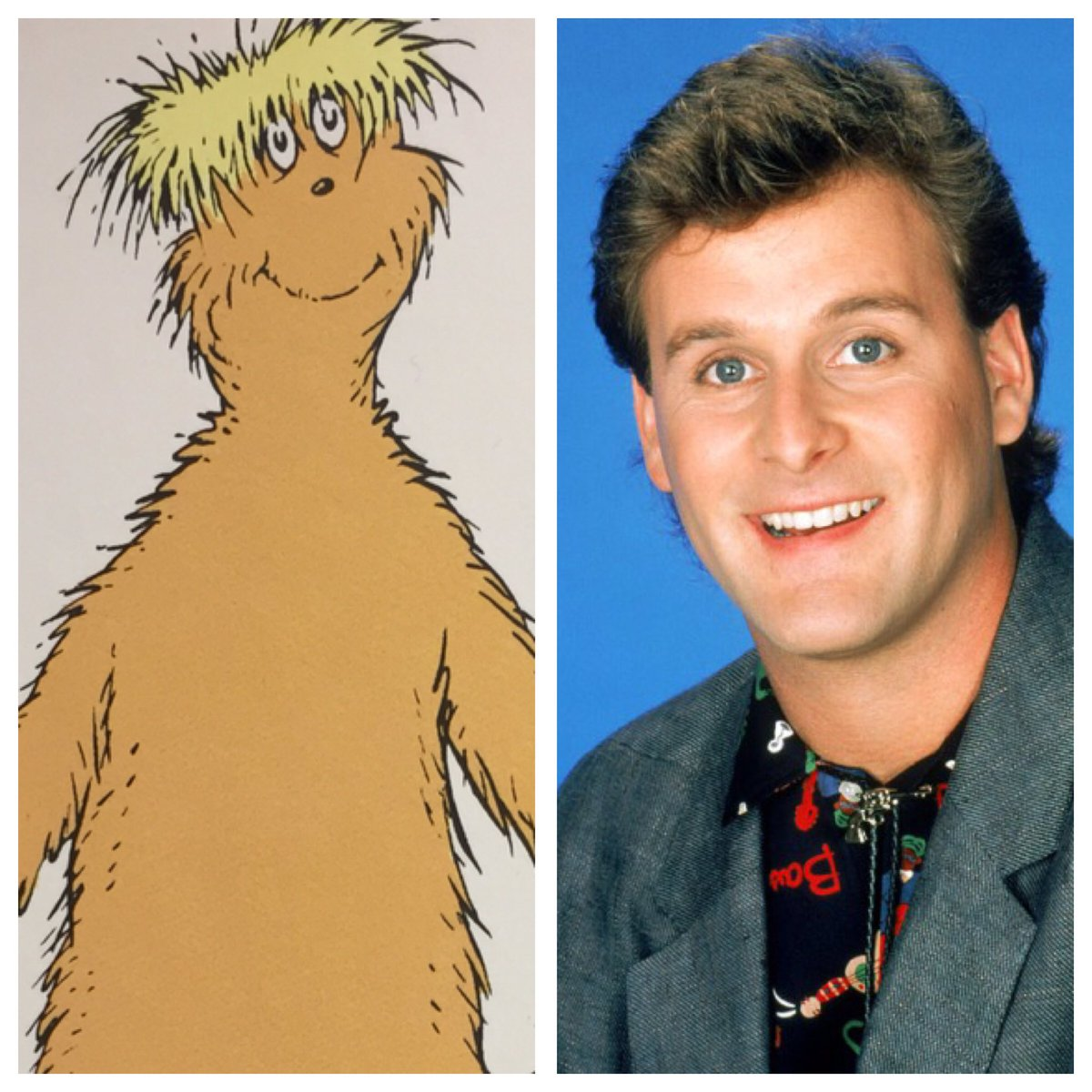 Before landing his role as Joey on Full House, Dave Coulier got his start modeling for Dr. Seuss. #InstantFanTheory <br>http://pic.twitter.com/w5ULIx6Ozf