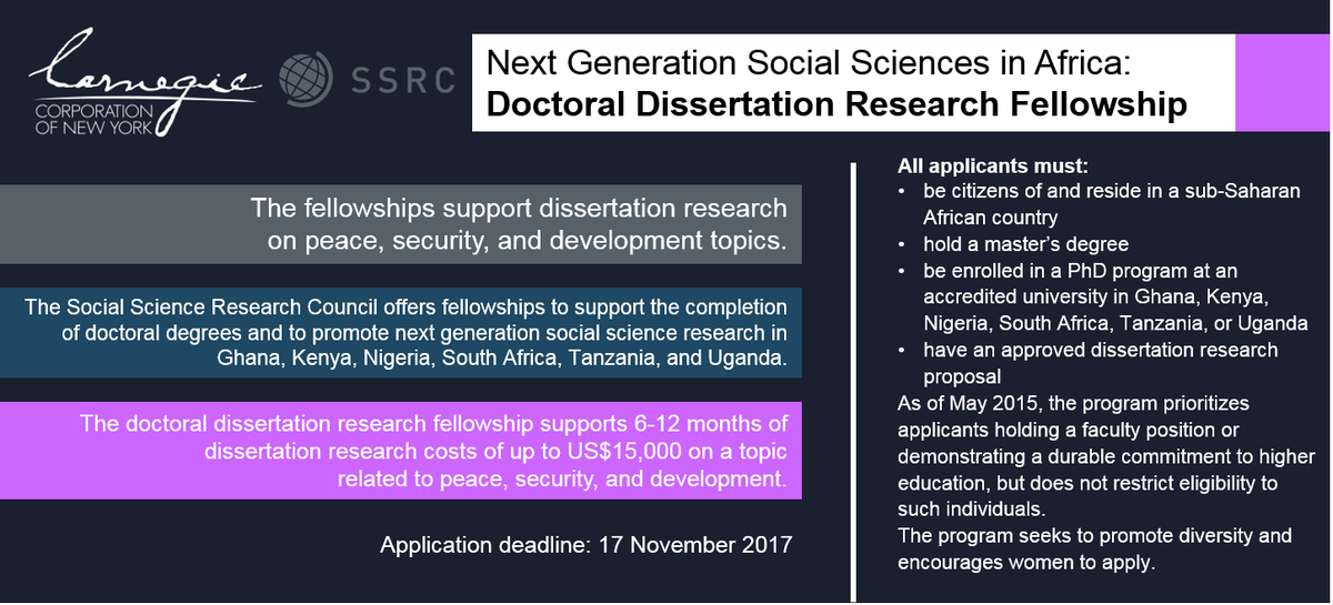 doctoral dissertation fellowship ttu Although many students complete their doctoral study in four years, some need a fifth year of support to complete the dissertation rutgers university dissertation fellowships are available to help these students.