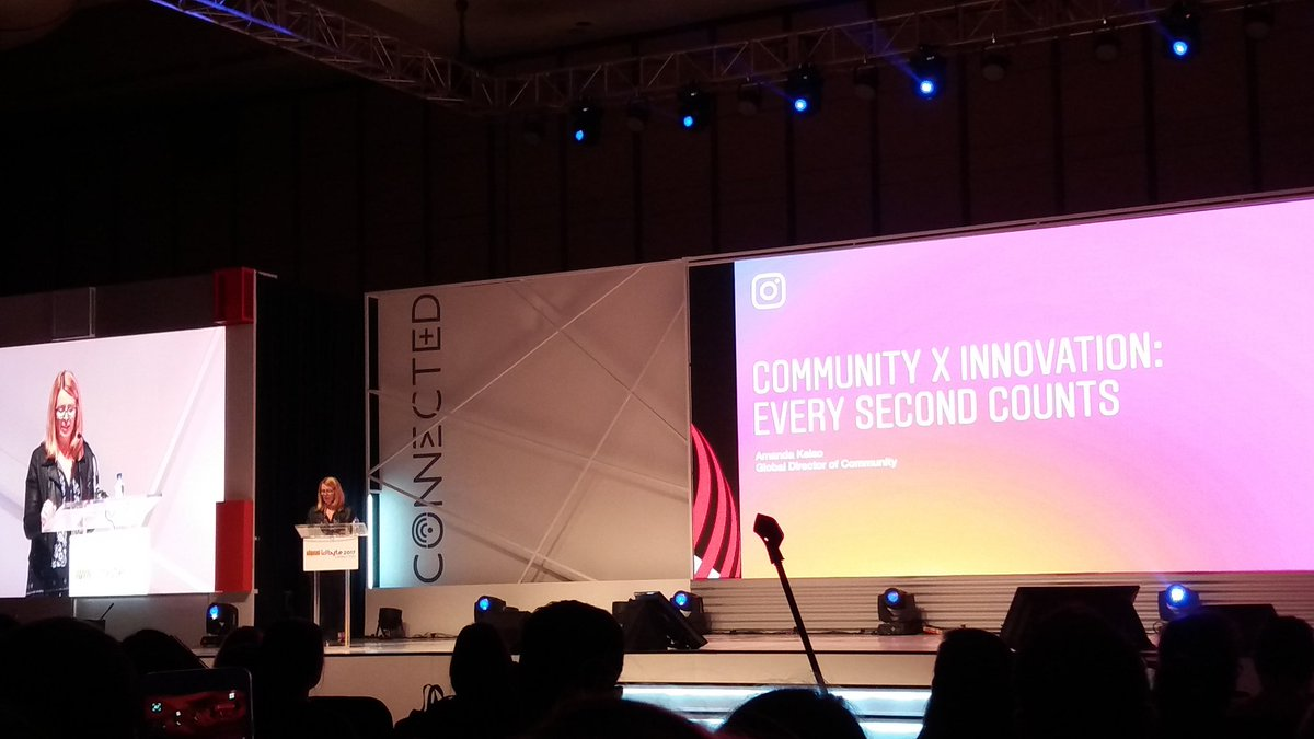 Amanda Kelson from Instagram: Indonesia is the country with highest Instagram user number in Asia Pacifix. 50+ mio user. #IDByte2017 <br>http://pic.twitter.com/JbnwQmtKFx