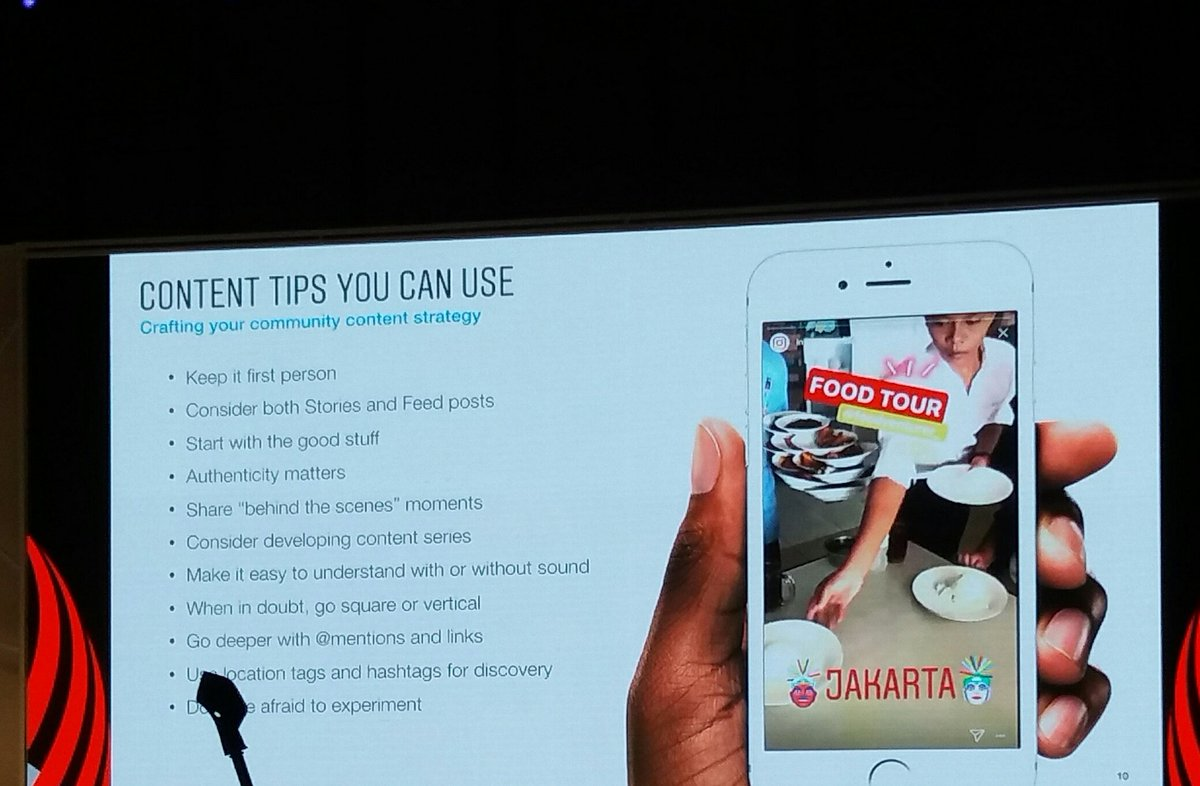 &quot;Don&#39;t be formal and authenticity is important for your content&quot; - Amanda Kelson. | Nah lhooo  #IDByte2017 <br>http://pic.twitter.com/LxM6UQdwKl