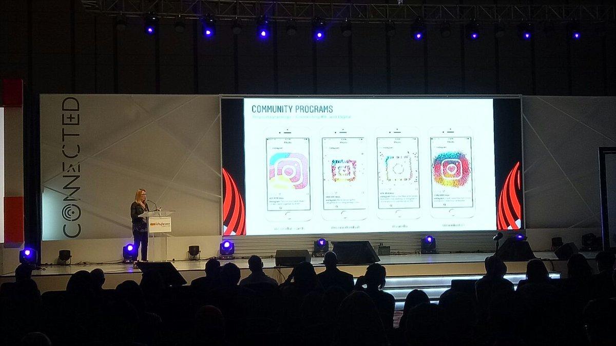 Keynote speaker: AmandaKelso, GlobalDirectorof Community, Instagram. &quot;Communityx Innovation: EverySecondCounts&quot; #IDByte2017 <br>http://pic.twitter.com/jodYqJmLND