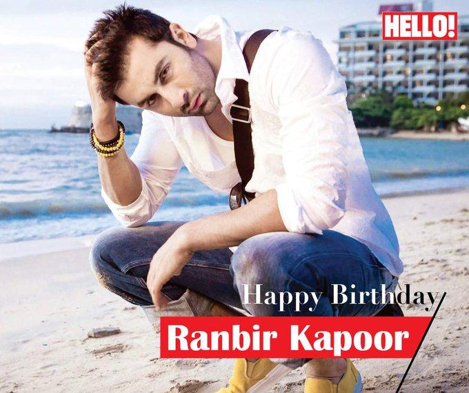 HELLO! wishes Ranbir Kapoor a very Happy Birthday