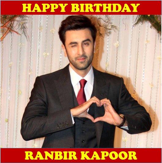 We wish the very talented Ranbir Kapoor a very happy birthday!